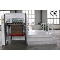 XMB-100 Semi-auto flat bed die cutting&creasing machine
