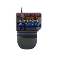 K27 One Hand Game Backlight Keyboard