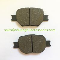 D817 brake pads for Toyota.Semi metal,27years experience