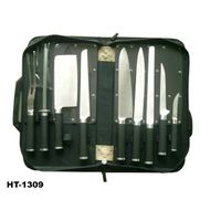 kitchen knife set with PU bag