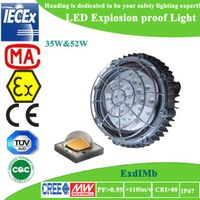 High efficiency osram 3-year warranty LED explosion proof light
