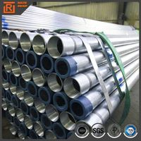 ERW Welding Round Pre galvanized Steel Pipe