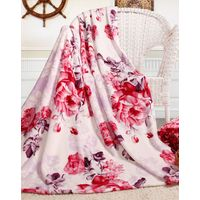 100% Polyester Printed Solid and Soft Coral Velvet Fleece Blanket thumbnail image