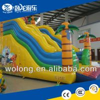 high quality cheap inflatable slide for kids