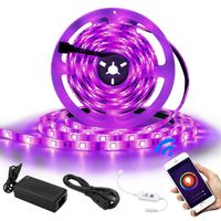 Tuya WiFi controller set light with waterproof RGBW colorful light bar 5 meters smart voice seven co