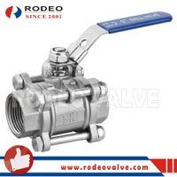 3PC stainless steel ball valve thumbnail image