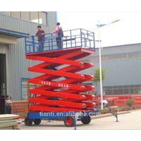 SJPT05-14 four wheel mobile lifting platform
