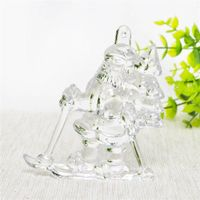 Hand craft glass christmas ornaments for gift
