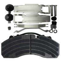 100000KM Eurotek Rotor Disc Brake Pad 29087/29202/29030