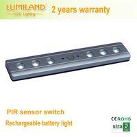 Rechargable LED battery light for wardrobe,drawer with PIR sensor--Lumiland thumbnail image