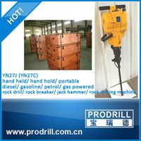 gasoline rock drill jack hammer