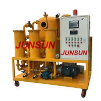 Automatic Movable High Vacuum Transformer Oil Purifier/ Oil Purification/ Oil Filtration Equipment thumbnail image