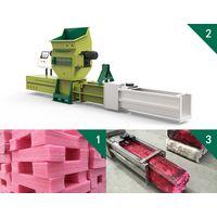 GREENMAX PE foam densifier Z-C100 for sale thumbnail image