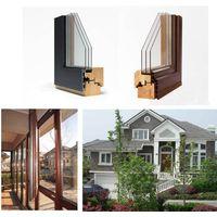 Aluminum wood composite window