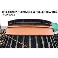 USED SKK-600GDA & OTHER MODELS OF TURNTABLE WITH ROLLER BEARING