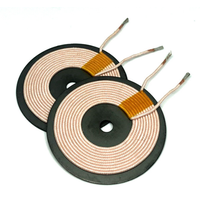 Customized 5W QI standard Transmitter coil Wireless charger coil from Chinese factory