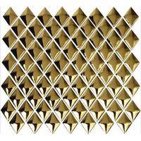 Vacuum metallizing mosaic tile AXDD023