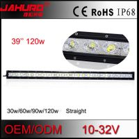 single row 120w led offroad light bar, aluminum offroad led light bar 39 inch