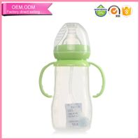 BPA free baby milk hot selling 8 ounce baby bottle
