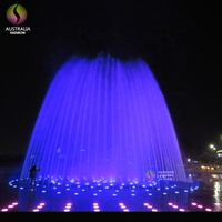 Outdoor Best Selling Interactive LED Dancing Floor Water Fountain for Children thumbnail image