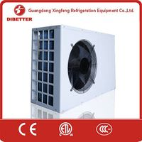 Evi low temperature heating system heat source/Janpan cost of heat pump