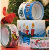 BOPP Water Based Acrylic Adhesive Tape Printed Christmas Tape