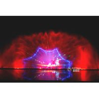 3D Laser Movie Water Screen Fountain Projector With Changeable Lights For Show Fountain thumbnail image