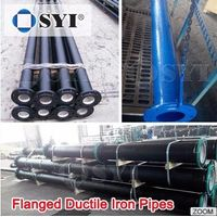 EN545 Ductile Iron Pipe for Water Use