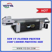 New design high resolution uv led flatbed printers