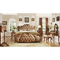 antique solid wood bedroom