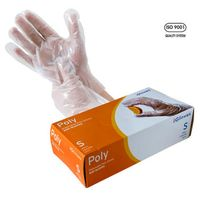 Cast Polyethylene disposable CPE Gloves for food service thumbnail image