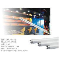 led high power Energy Saving 11w glass materials tube led flourscent lamp