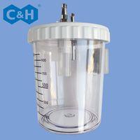 Medical Vacuum Regulator Suction Bottle 1L