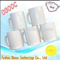 11oz White Ceramic Mug For Sublimation Transfer