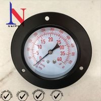 Stainless Steel Case Manifold Refrigerant Gauge with Flange