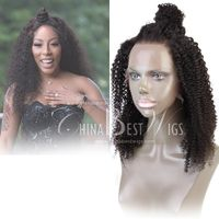 afro curl glueless full lace wig thumbnail image