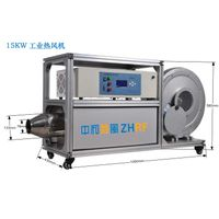 Industrial hot air blower with precise control of temperature