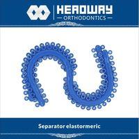 Headway orthodontic Elastomeric Separator with CE