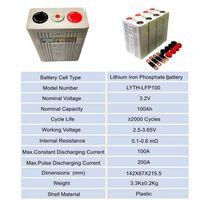 Outdoor Power Supply Storage lifepo4 Battery Li-ion LiFePO4 Lithium cells thumbnail image