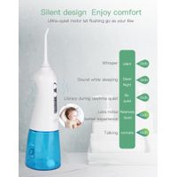 manual rechargeable floss cleaner dental water jet electric oral irrigator portable flosser for teet