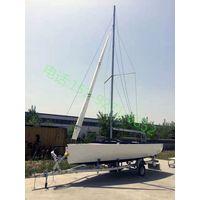 6.2 fiberglass sailing boat