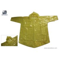 poncho, disposable poncho, PE poncho, disposable rainwear, asoutdoor.com
