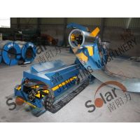 5T automatic decoiler with coil car for sale