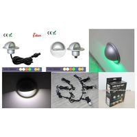 Stylish Half-moon Design DC12V IP65 Waterproof led plinth light/deck lamp