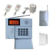 Wireless Intruder Alarm with USB Connection, Big LCD Screen Display, 40 Defence Zones thumbnail image