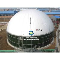 Glass Fused to Steel tank As Anaerobic Digesters For Biogas Project In Inner Mongolia