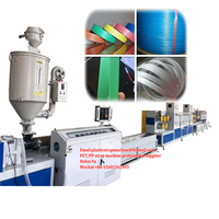 PP strapping band Roll tape packing extrusion production line machine in china