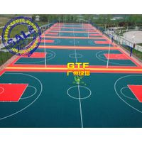 Recyclable PP Sports Interlocking Flooring for Basketball thumbnail image