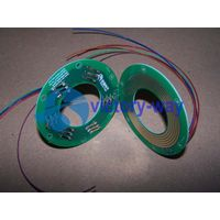Electric PCB Slip Ring/2 Parts/Flat/Through Hole/Pancake Type Manufacture in China thumbnail image