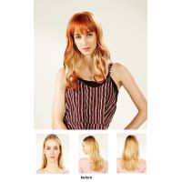 EYESHA fusion fashion wig 805A (Orange mix - natural wave style)